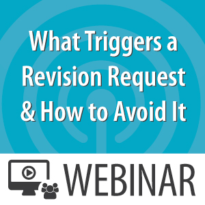 Revision Request Webinar