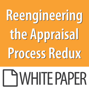Reengineering The Appraisal Process Redux
