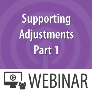 Supporting-Adjustments-Part-1
