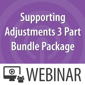 Supporting-Adjustments-3-Part-Bundle-Package